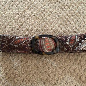 J.Crew Silk Tie Belt